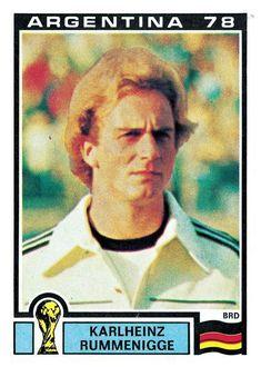 149 Karlheinz Rummenigge - West Germany - FIFA World Cup Argentina