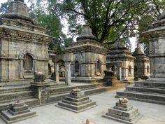 Pashupatinath temple. Templo indú. Kathmandu, Nepal.
