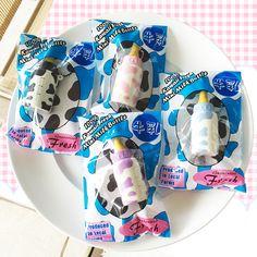 hayaru mini milk bottle squishy shop kawaii cute stuff