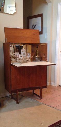 Reserved Bradley Mid Century Liquor Cabinet