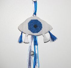 Evileye Ματι Gouri newborn gift. Hand by MeandMamaCreations