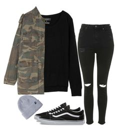 """""""Untitled #14"""" by mikasma ❤ liked on Polyvore featuring rag & bone, Topshop, Yves Saint Laurent and Vans"""