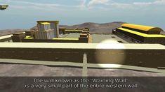 Virtual tour in Jerusalem, on herod's Temple Mount