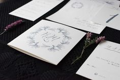 This simply wedding paper collection is produced of cotton heavy paper. Magnolia Wedding, Magnolia Flower, Wedding Stationary, Wedding Invitations, Wedding Paper, Vienna, Flowers, Wedding Stationery, Wedding Invitation Cards