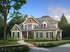 Cottage+House+Plan+with+2828+Square+Feet+and+4+Bedrooms+from+Dream+Home+Source+|+House+Plan+Code+DHSW74159