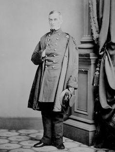 General Robert Anderson , clean shaven men