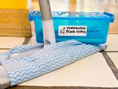 Save Money with Homemade Reusable Floor Wipes