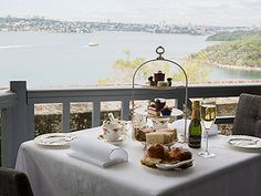 High Tea at Gunners Barracks, Sydney. There are few places in Sydney that can match the Barracks for pomp and jaw-dropping views. We're not talking a little corridor of harbour. The Gunners&rs Tea Places, Places To Eat, Tea Restaurant, Sydney, Stuff To Do, Things To Do, Etiquette And Manners, Glass Of Champagne, Long Weekend