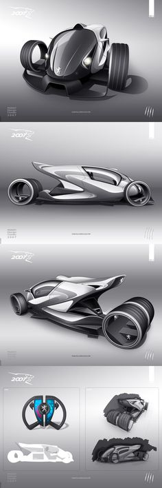 Here is my 2007 Peugeot Design Contest project.. ..but I couldn't make it to the finals.. take a look at the top 30 finalists here: software: Photoshop CS2, SketchUp hardware: mouse, Wacom Int...