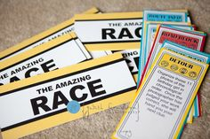 Ideas- amazing race birthday party 11 year old girl 13th Birthday Parties, 11th Birthday, Birthday Fun, Birthday Party Themes, Birthday Ideas, Kid Parties, School Parties, Amazing Race Party, Race Around The World