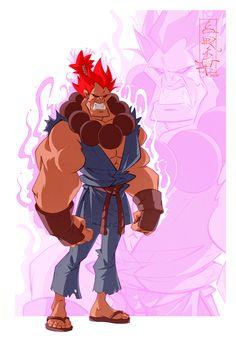 """다음 @Behance 프로젝트 확인: """"Street Fighter Characters. Fanart"""" https://www.behance.net/gallery/38257347/Street-Fighter-Characters-Fanart"""
