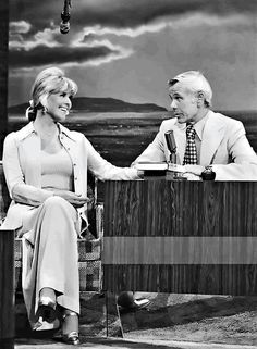 Doris Day on the Tonight Show with Johnny Carson.