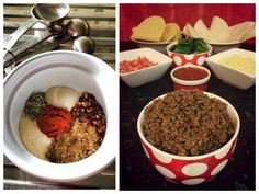 image Slow Cooker Freezer Meals, Slow Cooker Tacos, Slow Cooker Beef, Slow Cooker Recipes, Taco Mince Recipe, Mince Recipes, Mexican Food Recipes, Dog Food Recipes, Cooking Recipes