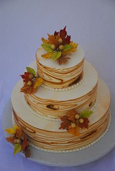 two tier fall  wedding cakes | Recent Photos The Commons Getty Collection Galleries World Map App ...