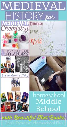 Medieval History for Homeschool Middle School using Beautiful Feet Books or history living books. Be sure to enter the giveaway for $100.00 for curriculum from July 12 to July 19, 2016 Hurry!! @ Tina's Dynamic Homeschool Plus
