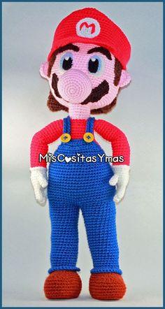 Mario Free, Mario Bros., Mario Crochet, Smurfs, Blog, Crochet Patterns, Dolls, Cartoons, Fictional Characters