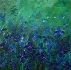 Afbeeldingsresultaten voor irissen geschilderd