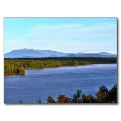 Mt. Katahdin - I95 Scenic Turnout Postcard (Pkg of 8) by KJacksonPhotography --  Taken 09.13.2014 From the scenic turnout off of I95, mile marker 252, Mt. Katahdin with Salmon Stream Lake in the foreground. Mt.Katahdin is the tallest peak in the state of Maine at 5,267 ft. PC:188.225#nature #photography #mtkatahdin #scenic #landscape  #postcard #postcards
