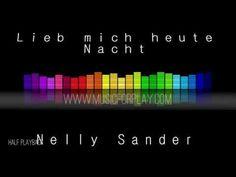 Lieb mich heute Nacht - Nelly Sander - Halfplayback