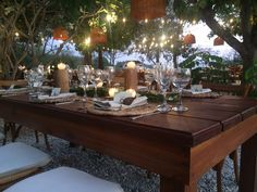 Table Settings, Rustic Style, Place Settings, Tablescapes