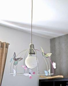 Haz tu Lámpara de Papel por menos de 1 Euro (Parte II) | http://papelisimo.es/haz-tu-lampara-de-papel-por-menos-de-1-euro-parte-ii/