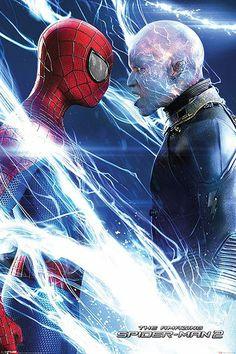 Póster The Amazing Spiderman:El Poder de Electro, desafio Póster perteneciente a la nueva entrega de Spiderman: el poder de Electro.