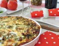 #Zapiekanka quiche lorraine z boczkiem i cebulą