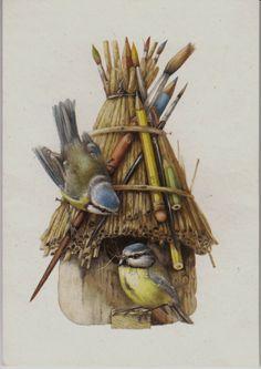 Great tit birds  Cross Stitch Pattern pdf No039 by coinchantal, $6.00
