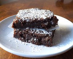 The Bake-Off Flunkie: Fudgy Cocoa Brownies (and mix). Formulated for high altitude.