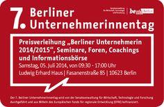 Berliner Unternehmerin des Jahres -  Was bedeutet das?