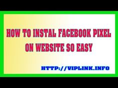 How To Install Facebook Pixel On Wordpress, Website And Shopify