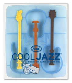 It's time to kick back and chill and here's a cool way to do it! Drop one of these groovy guitars into your drink, and give it a stir. Just the thing for jazzing up your favorite beverage.  #gifts #for #her #him #family