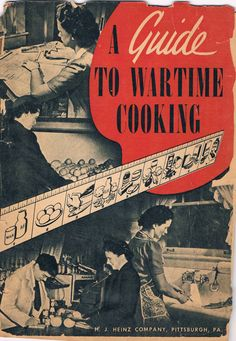 WWII Recipe Booklet Would love to have a copy of this. Old Recipes, Vintage Recipes, Retro Recipes, Cookbook Recipes, Cooking Recipes, Vintage Cookbooks, Vintage Books, War Recipe, Wartime Recipes