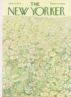 The New Yorker - Saturday, June 16, 1973 - Issue # 2522 - Vol. 49 - N° 17 - Cover by : Ilonka Karasz