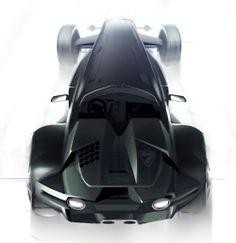 Concept Lotus 7, Design by Yury Zamkovenko