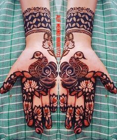 Manisha Peacock Mehndi Designs, Mehndi Designs Book, Mehndi Designs For Beginners, Modern Mehndi Designs, Dulhan Mehndi Designs, Mehndi Design Pictures, Wedding Mehndi Designs, Beautiful Mehndi Design, Latest Mehndi Designs