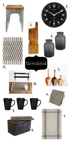 threshold: mix in a little of you. / sfgirlbybay  To go with threshold kitchen inspiration in Kitchens board