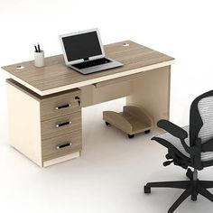 Best price commercial furniture mfc panel office desk modern design ...