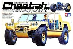 Rc Cars And Trucks, Childhood Toys, Tamiya, Plastic Models, Box Art, Bobber, Scale Models, Offroad, Lamborghini