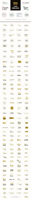 Fancy Logos - Branding Logo Pack by Brainvasion on @creativemarket