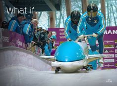What if KLM was a bobsleigh team? #OS2014