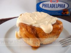 These Gluten-Free Cream Cheese Cinnamon Buns are filled with cream cheese goodness and chopped pecans.