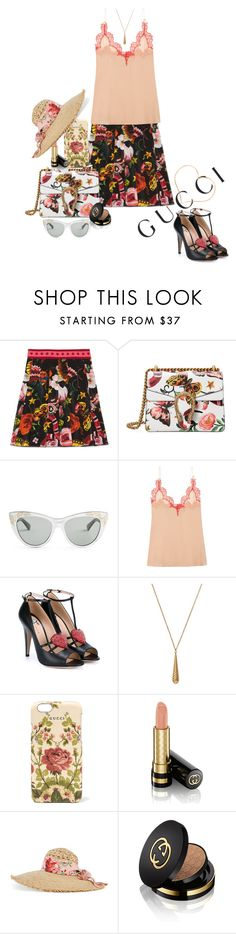 """""""Presenting the Gucci Garden Exclusive Collection: Contest Entry"""" by juliehooper ❤ liked on Polyvore featuring Gucci and gucci"""