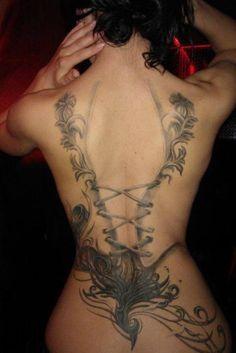 Feminine Back Tattoos | Inked Magazine