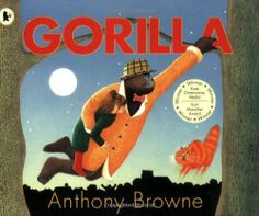Gorilla By Anthony Browne. The perfect picture book for identifying the importance of illustrations. On it's surface this is the tale of a little girl who loves gorilla's, but there is much more happening in this story than you might think. 100 Best Books, Good Books, My Books, Visual Literacy, Literacy Skills, Toddler Books, Childrens Books, Gorilla Story, Infancy