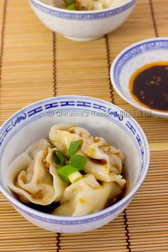 Dumplings in Red Oil/Chilli Oil (紅油抄手) - Christine's Recipes: Easy Chinese Recipes | Easy Recipes
