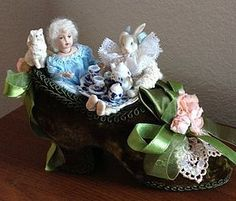 Tea Party with Alice ~ A Tea Party in a Shoe (item #1271486) #dollshopsunited