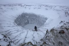 Washington Post: The Siberian crater saga is more widespread — and scarier — than anyone thought (global warming is causing giant methane explosions from underground as permafrost melts, releasing flammable gas)