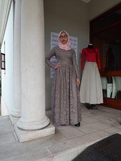 Full Lace Dress www.fabulousinhijab.co.za #HFWSA #eid2016
