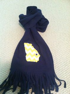 Georgia southern scarf. Unique and useful!